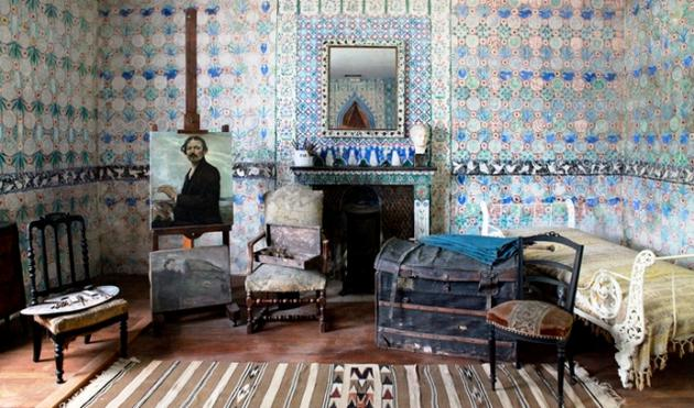la maison du peintre le mus e site milcendeau site. Black Bedroom Furniture Sets. Home Design Ideas
